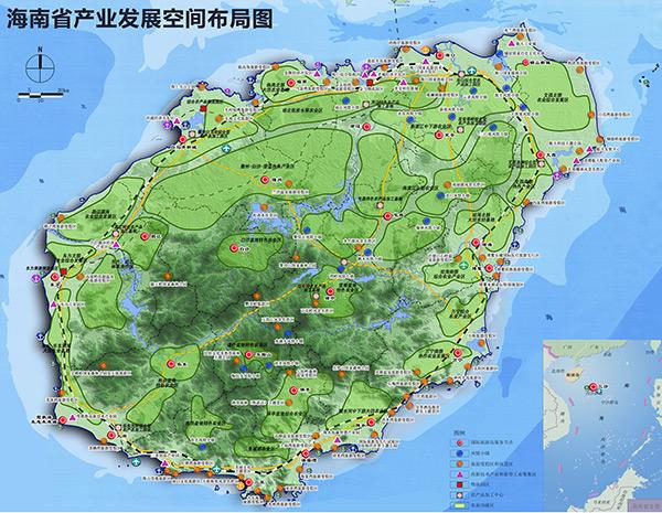 海南规划 / 城乡统筹与城镇化_海南省规划展览馆