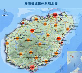 海南岛儋州市地图